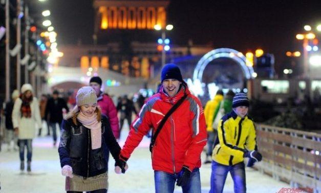 «Город зимы» в Москве. На ВДНХ откроются катки и снежный городок
